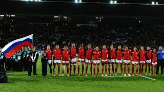USA v Russia anthems stir the heart in 2011