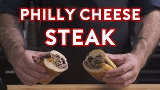 Binging with Babish - How to make a real Philly Cheesesteak from