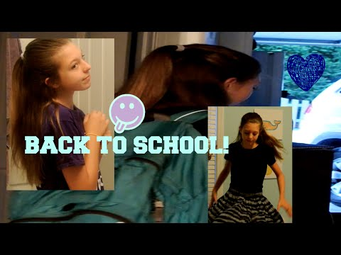 GET READY WITH ME -- FIRST DAY OF HIGH SCHOOL!