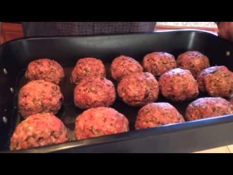 No Carb Meatballs