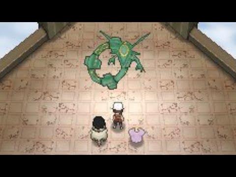 Pokemon Omega Ruby and Alpha Sapphire - Rayquaza Legendary Encounter