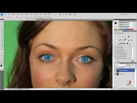 Photoshop CS4: Change Eye Color