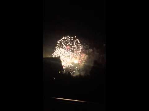 Beach club villa view of Epcot fireworks