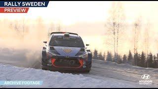 Rally Sweden Preview - Hyundai Motorsport 2018