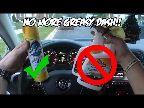 The BEST way to Clean the Inside of your Car!!  *GREASE FREE CLEAN*
