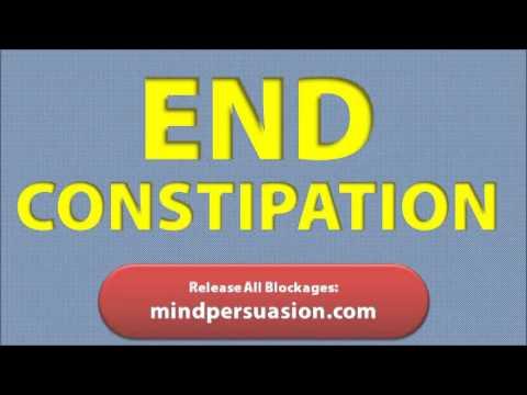 Regular Bowel Movements - End Constipation - Release Waste