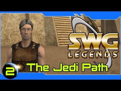 SWG Legends - The Jedi Path - Star Wars Galaxies Jedi Gameplay - Part 2