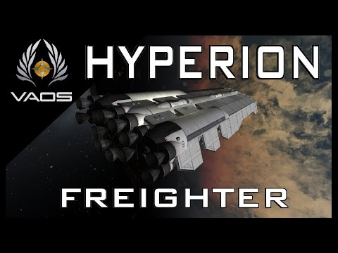 HYPERION FREIGHTER - KSP Ship Build.