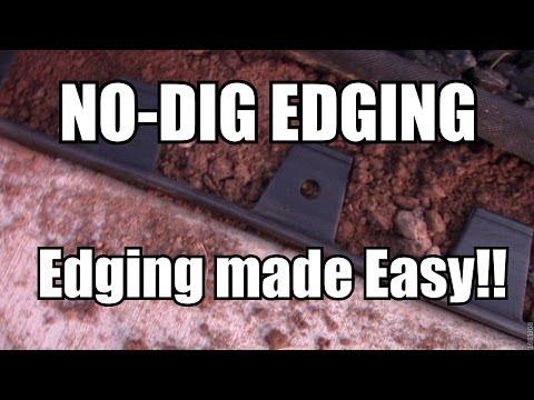 No Dig Flexible Landscape Edging