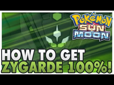 HOW TO GET ALL ZYGARDE CELLS/CORES! | How to Get Zygarde 100% | Pokemon Sun and Moon