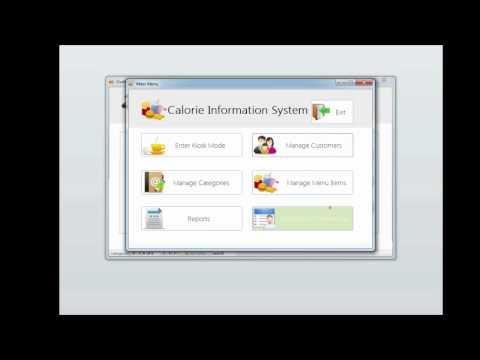 Application Developed Using Microsoft Access