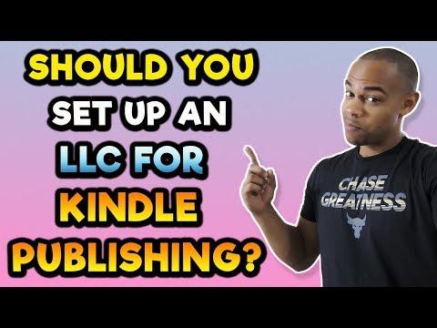 Should You Set Up An LLC For Kindle Publishing?