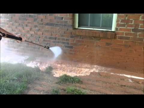 HydroClean Pressure Washing Red Clay Removal