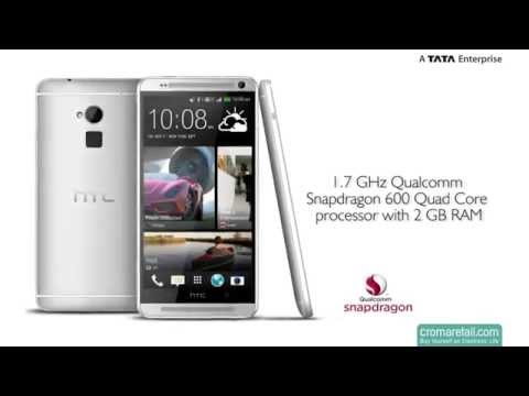 HTC One Max GSM Mobile Phone (Silver)