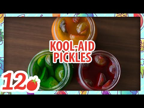 How To Make: Homemade Kool-Aid Pickles