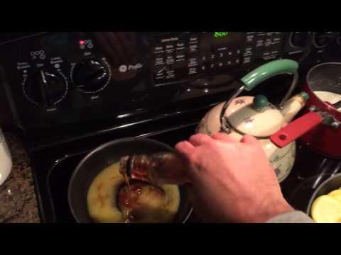 Bourbon Glaze for Salmon