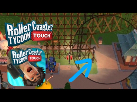 How To Put Pathways Underneath a Roller Coaster | RollerCoaster Tycoon Touch | #2