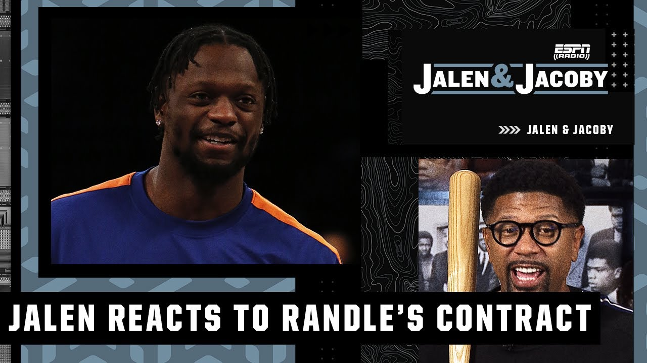 Julius Randle's $117M extension is a 'boss move' - Jalen Rose | Jalen and Jacoby