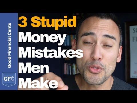 3 Stupid Money Mistakes Men Make 😫