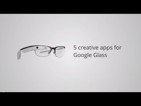 5 creative apps for Google glass