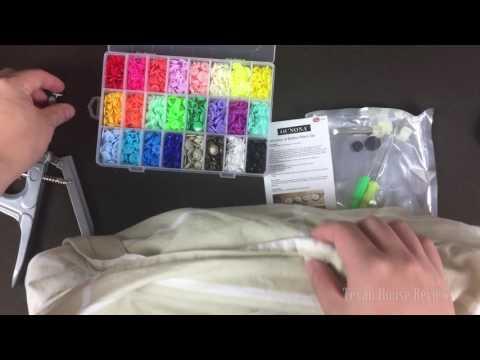 OUNONA Plastic Snap Button