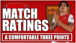ARSENAL PLAYER RATINGS | AUBAMEYANG IS THE BEST STRIKER IN THE PREMIER LEAGUE!