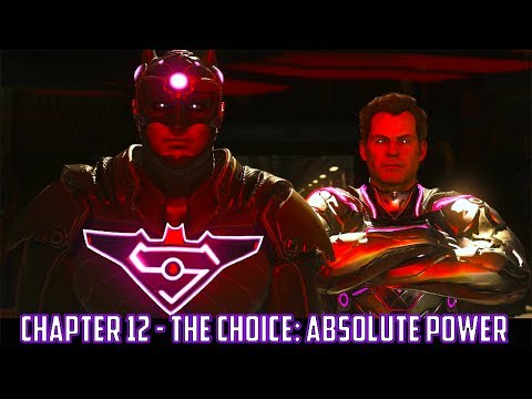 Injustice 2 Chapter 12 - The Choice: Absolute Power (Superman Ending)