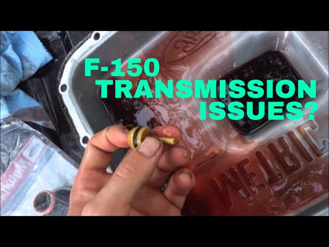 2004-2008 Ford F-150 Transmission Problems - Service/Flush - Dies When Shifting Into Gear Video