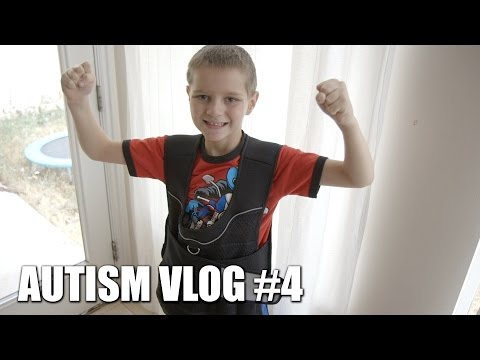 Autism Vlog #4: Weighted Vest, Probiotics & B-12, Dragon Ball Z, and more!