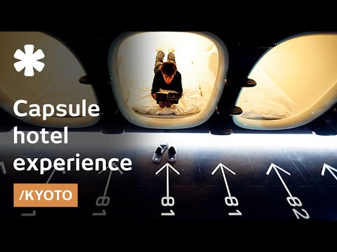 Capsule hotel, ancient city: sleeping in a Kyoto pod for $40