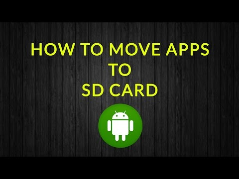 How to move apps to sd card Android in Hindi