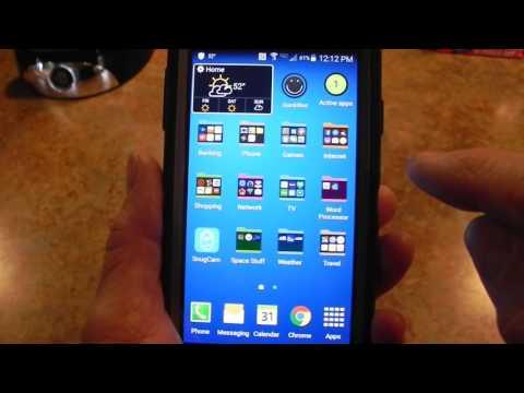 Samsung Galaxy S4 Touchwiz Home Error Message