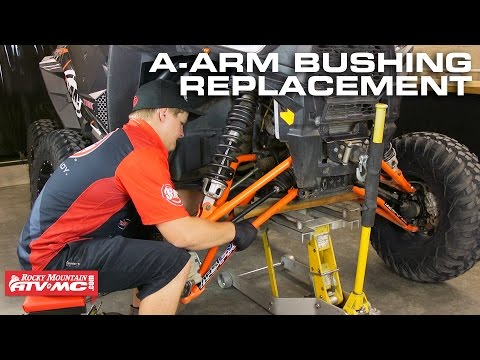 Polaris RZR A-Arm Bushing Replacement (Front Upper & Lower)