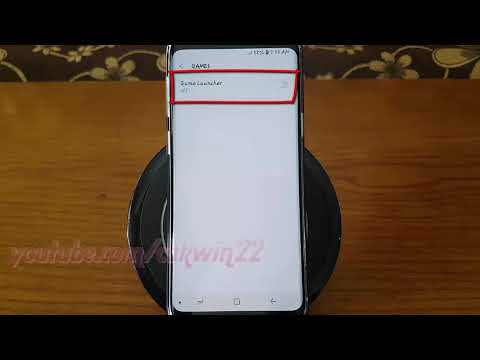 Samsung Galaxy S9 : How to Enable or Disable Game Launcher (Android Oreo)
