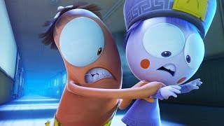 Funny Animated Cartoon | Spookiz | Gummy Snail | 스푸키즈 | Kids Cartoons | Videos for Kids
