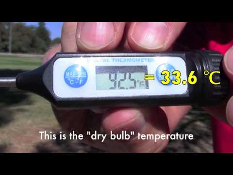 Psychrometer: Measuring Relative Humidity