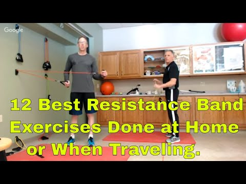12 Best Resistance Band Exercises Done At Hone or When Traveling