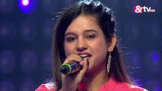 Neha Khankriyal - Mohe Panghat Pe | The Blind Auditions | The Voice India 2