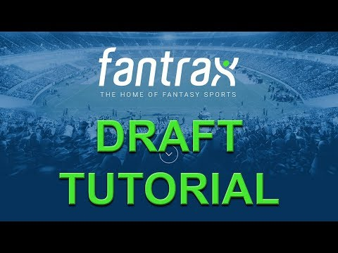 How To Draft A Fantasy Baseball Team On Fantrax: A Quick Tutorial