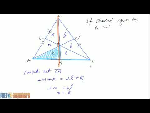 2  Proof of 2 to 1 ratio of the median for Vertex to Centroid to Centroid to Side of a Triangle