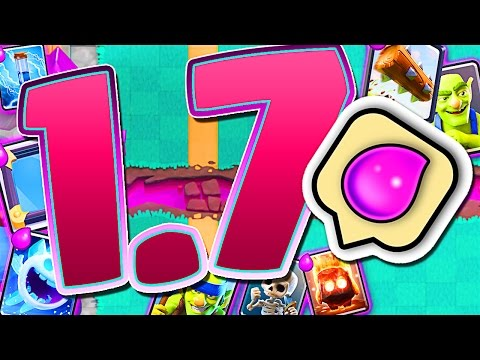CHEAPEST DECK IN GAME :: Clash Royale :: 1.7 ELIXIR TROLL DECK!