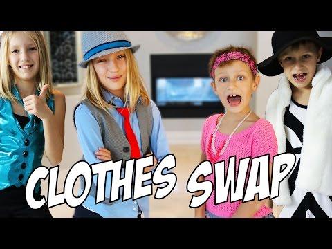 CLOTHES SWAP Challenge / GamerGirl / RonaldOMG