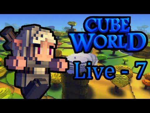 Cube World : Aventure Découverte | Episode 7 - Live