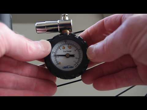 Godeson Presta Valve Bicycle Tire Pressure Gauge vs Topeak D2 SmartGauge
