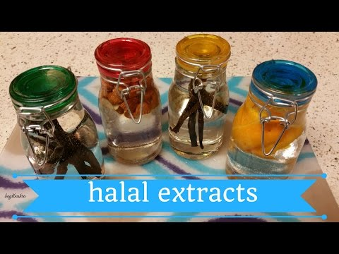 How to make: Halal Extracts