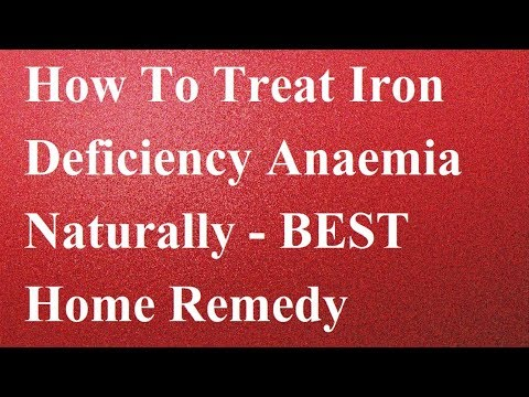 How To Treat Iron Deficiency Anaemia Naturally - How To Cure  Anaemia Fast - Best Home Remedy