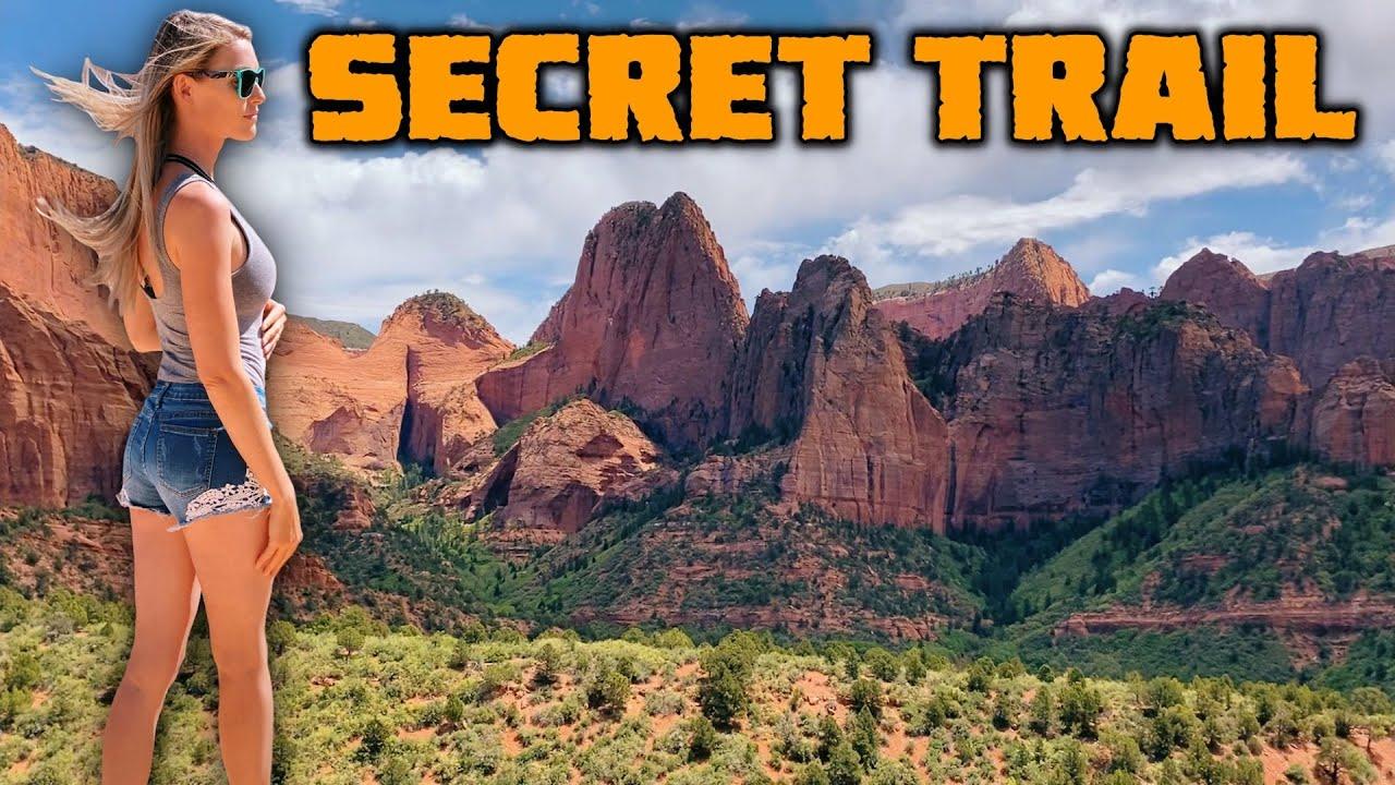 WE FIND A SECRET TRAIL!