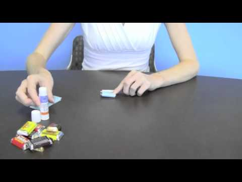 How to Wrap HERSHEY'S MINIATURES Bars with Personalized Candy Wrappers