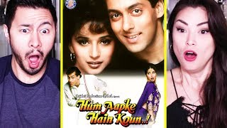 HUM AAPKE HAIN KOUN | Salman Khan | Madhuri Dixit | Trailer Reaction by Jaby & Alazay!