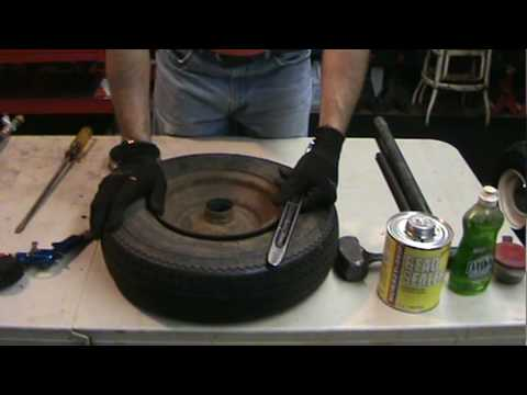 Tire Changing 101...how to change your own mower or garden tractor tires